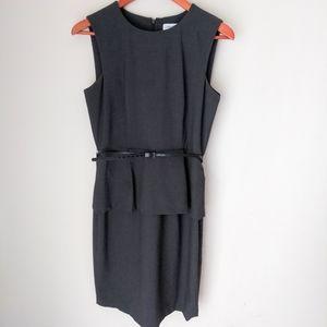 Calvin Klein peplum dress size 8